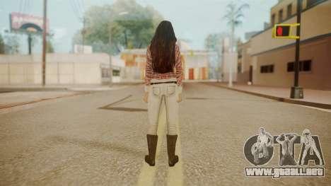 Megan Fox para GTA San Andreas tercera pantalla