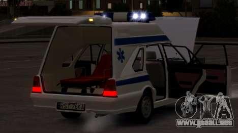 Daewoo-FSO Polonez de Carga de Ambulancias de 19 para GTA 4 vista lateral