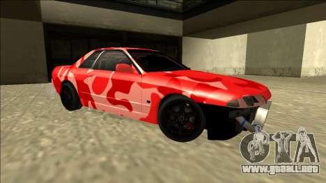 Nissan Skyline R32 Drift para GTA San Andreas left