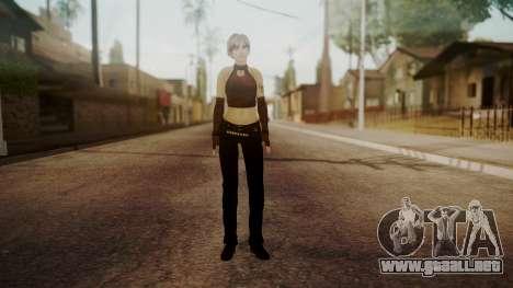 Jennifer para GTA San Andreas segunda pantalla