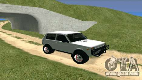 Lada Urban OFF ROAD para GTA San Andreas left