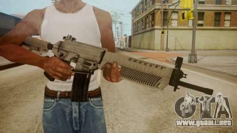 SIG-556 Patrol Rifle White para GTA San Andreas