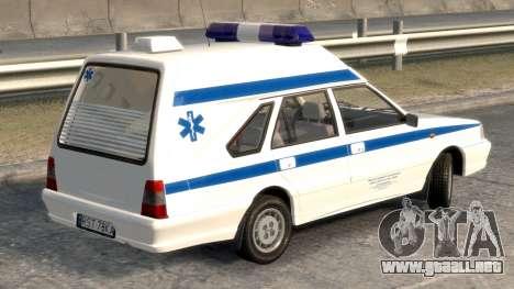 Daewoo-FSO Polonez de Carga de Ambulancias de 19 para GTA 4 Vista posterior izquierda