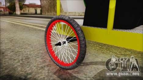 Bicitaxi Colombiano para la visión correcta GTA San Andreas