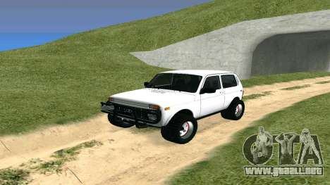 Lada Urban OFF ROAD para GTA San Andreas