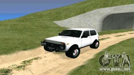 Lada Urban OFF ROAD para GTA San Andreas