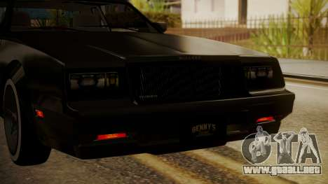 GTA 5 Faction Stock DLC LowRider para vista lateral GTA San Andreas