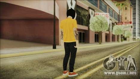 DLC Halloween GTA 5 Skin 3 para GTA San Andreas tercera pantalla