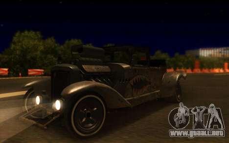 Albany Frenken Stange Rusty Edition para la visión correcta GTA San Andreas