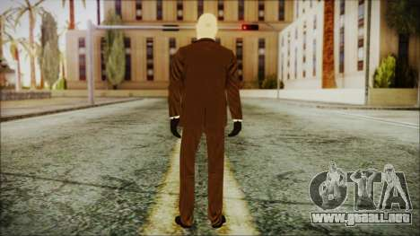 Hitman Absolution Agent 47 para GTA San Andreas tercera pantalla
