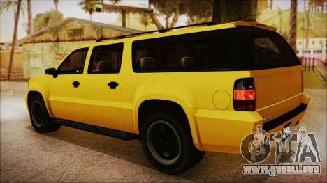 GTA 5 Declasse Granger IVF para GTA San Andreas left