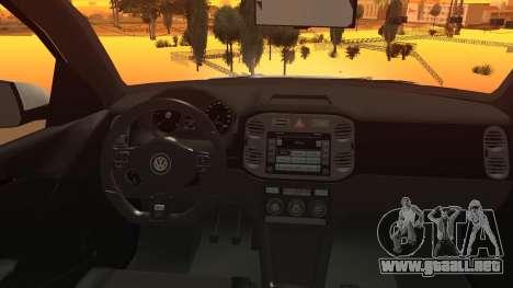 Volkswagen Tiguan Vossen Edition para la visión correcta GTA San Andreas