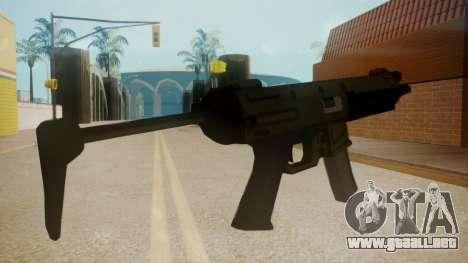 GTA 5 MP5 para GTA San Andreas segunda pantalla