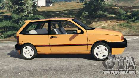 GTA 5 Fiat Tipo vista lateral izquierda