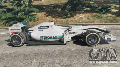Mercedes-Benz MGP W01 [Michael Schumacher] v1.1 para GTA 5