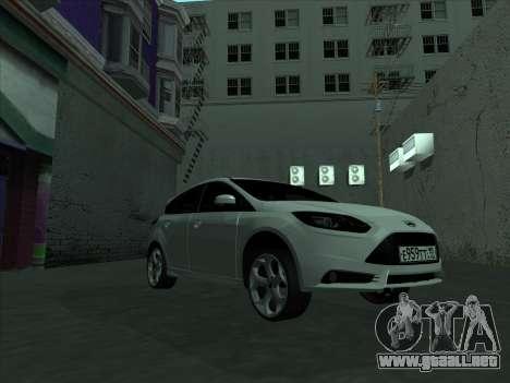 Ford Focus ST barbadas para visión interna GTA San Andreas
