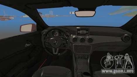 Mercedes-Benz CLA 250 para la visión correcta GTA San Andreas