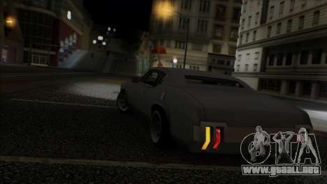 Sabre Race Edition para vista inferior GTA San Andreas