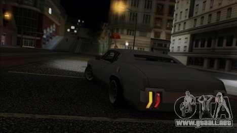 Sabre Race Edition para vista inferior GTA San Andreas