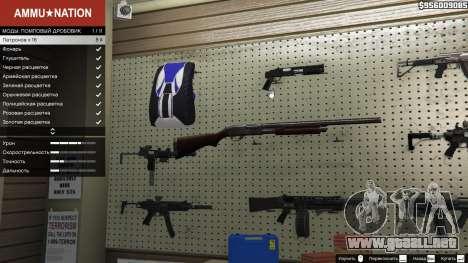 Remington 870e para GTA 5