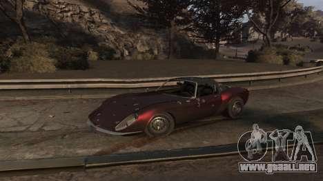 GTA V Stinger Classic para GTA 4 vista lateral