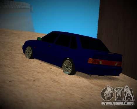 VAZ-2115 para la vista superior GTA San Andreas