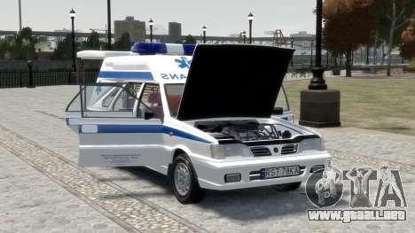 Daewoo-FSO Polonez de Carga de Ambulancias de 19 para GTA motor 4