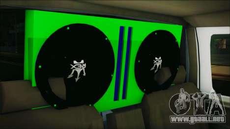 Ford F-150 Con Sonido para GTA San Andreas vista hacia atrás