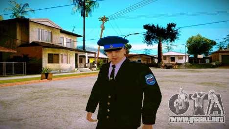 El empleado del Ministerio de Justicia v1 para GTA San Andreas