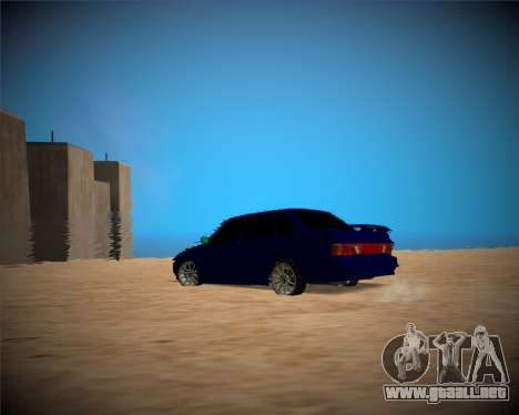 VAZ-2115 para vista lateral GTA San Andreas