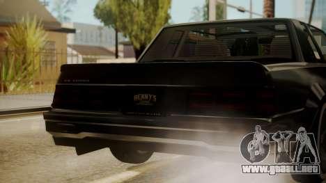 GTA 5 Faction Stock DLC LowRider para la vista superior GTA San Andreas