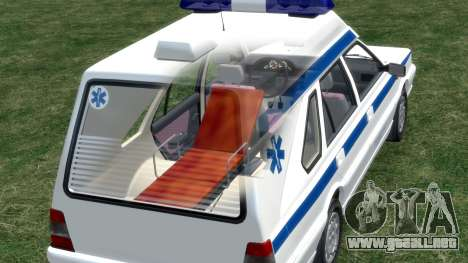 Daewoo-FSO Polonez de Carga de Ambulancias de 19 para GTA 4 ruedas