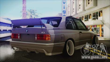 BMW M3 E30 Camber para GTA San Andreas left