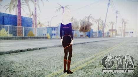 Elsa Black Outfit para GTA San Andreas tercera pantalla