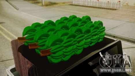 Jeep Willys Cafetero para la visión correcta GTA San Andreas