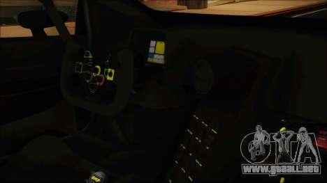 Lamborghini Huracan 610-4 GT3 2015 para la visión correcta GTA San Andreas