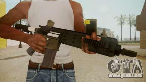 GTA 5 M4 para GTA San Andreas tercera pantalla