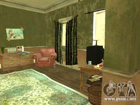 Apartamento de GTA IV para GTA San Andreas sexta pantalla