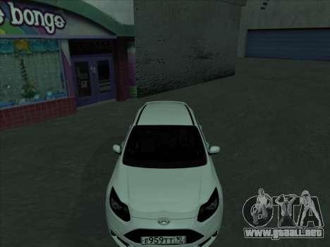 Ford Focus ST barbadas para vista lateral GTA San Andreas