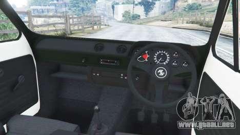 GTA 5 Ford Escort MK1 v1.1 [Carrillo] vista lateral derecha