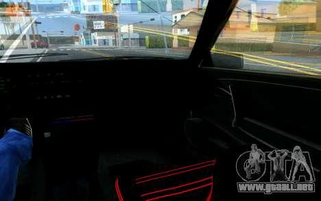 VAZ 2108 V1 para la vista superior GTA San Andreas