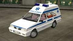 Daewoo-FSO Polonez de Carga de Ambulancias de 19
