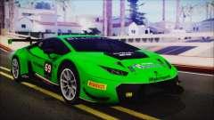 Lamborghini Huracan 610-4 GT3 2015 para GTA San Andreas