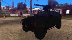 Komatsu LAV 4x4 with Vulcan Gatling Gun