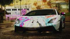 Lamborghini Gallardo LP570-4 2015 Miku Racing 4K