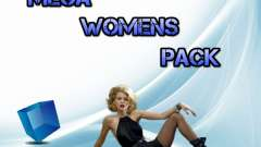 Womens Mega Pack by 7 Pack para GTA San Andreas