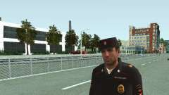 El Sargento de PPS en la forma de la nueva muest