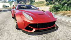 Ferrari F12 Berlinetta [LibertyWalk] v1.2 para GTA 5