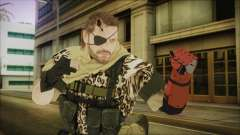 MGSV Phantom Pain Snake Scarf Animals para GTA San Andreas