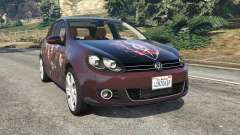 Volkswagen Golf Mk6 v2.0 [Slipknot] para GTA 5
